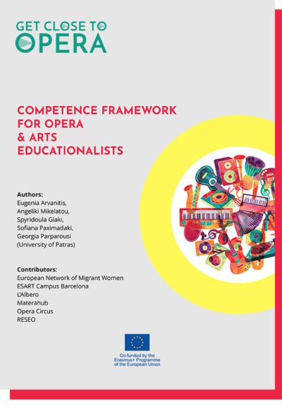 Competence Framework for Opera and Arts Educationalists