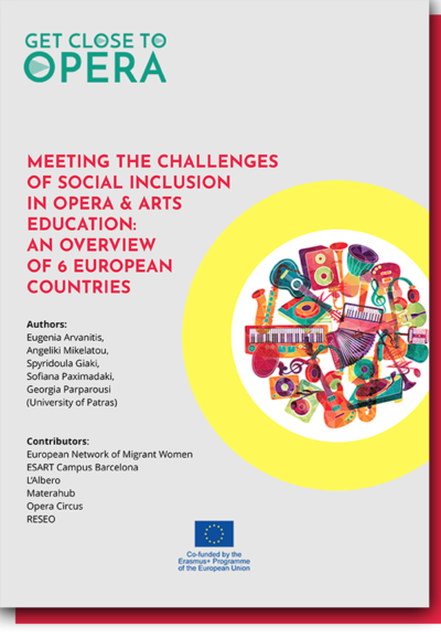 Meeting the challenges of social inclusion in Opera and Arts Education: an overview of 6 European Country